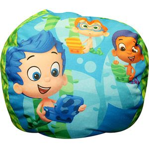 Nickelodeon Bubble Guppies Totally Guppies Bean Bag: Bubble Guppies, Beans, Totally Guppies, Bubbles, Nickelodeon Bubble, Guppies Bean, 2Nd Birthday, Bean Bags, Guppies Totally