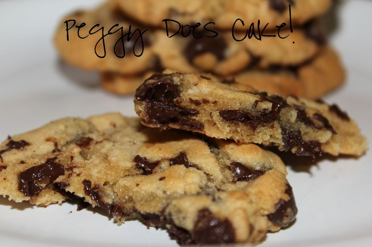 Peggy Does Cake.: Recipe: Super Easy Chocolate Chip Cookies