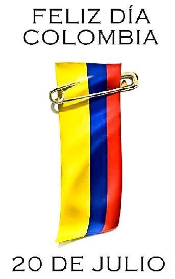 """20 de julio, día de la Independencia de Colombia, se conmemora """"El Grito de La Independencia"""" dado en Bogotá el 20 de julio de 1810; """"La historia nos dice que todo comenzó con un florero. Era viernes - 20 de julio y día de mercado - cuando un criollo fue a pedir prestado un florero. Un acto, en apariencia efímero, desató un enfrentamiento entre criollos y españoles y culminó en la independencia de Colombia""""."""