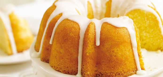 Gâteau Bundt au citron Recettes   Ricardo