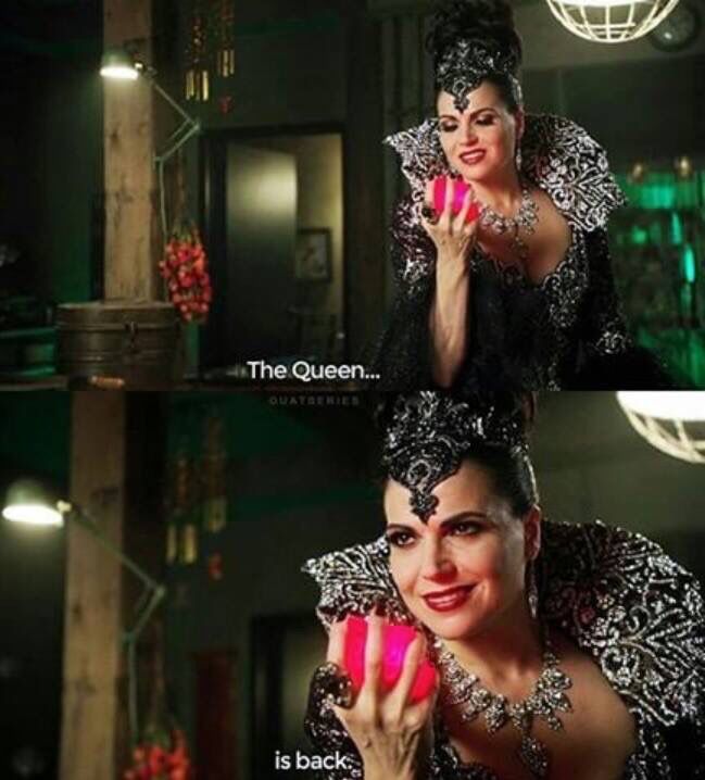 Awesome Evil Queen Regina (Lana) #Once #S6 E1 #TheSavior #Once #S6 Fall premiere airs Sunday 9-25-16 #TheQueenIsBack