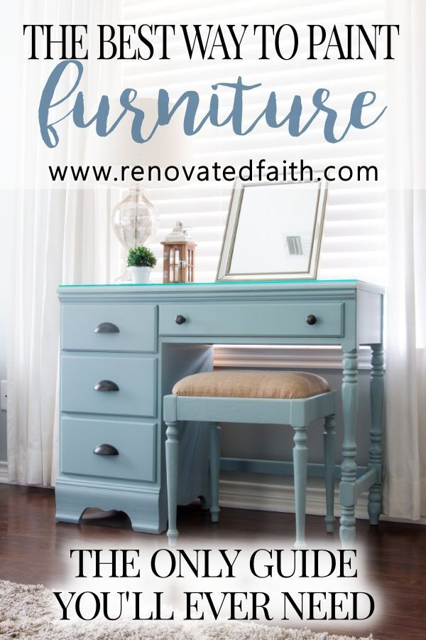 A Better Alternative To Chalk Paint Best Type Of Paint For Wood Furniture Painting Wood Furniture Refinishing Furniture Wood Furniture Diy