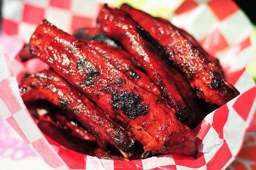 Chinese-Style Spare Ribs. These grilled ribs are so finger-licking good, and are popular at any dim sum restaurants. YUM!!