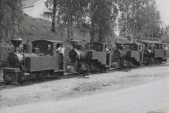 Junat jonossa, Nokia Oy, puunjalostusteollisuus  #train #locomotive #höyryveturit