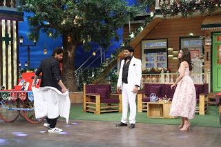 Shahrukh Khan turns salesman on Sony Entertainment Television's, The Kapil Sharma Show   http://spanishvillaentertainment.blogspot.com/2016/12/shahrukh-khan-turns-salesman-on-sony.html