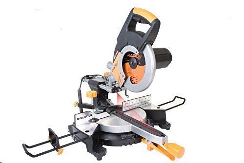 """Multipurpose Cutting Compound Sliding Miter Saw 10"""" Corded Electric Power Tools  #EvolutionPowerTools"""