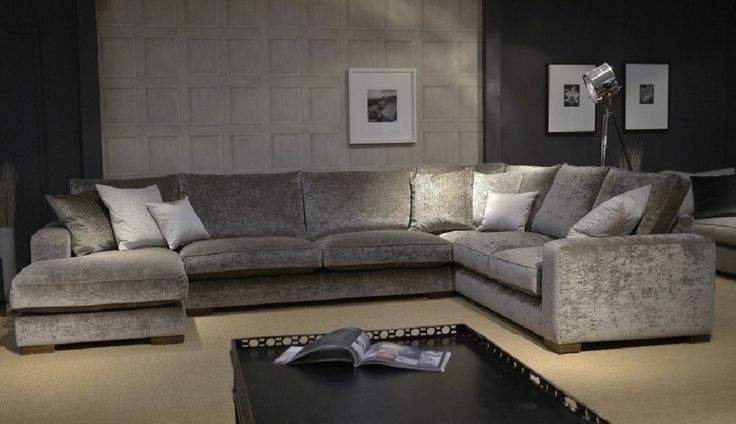 The Ashdown U-Shaped Sofa is made up of a combination of using a Left or Right hand Longer unit, Grand Armless unit and a Left or Right Hand Super Grand Corner Unit. Scatter Cushions not Included.