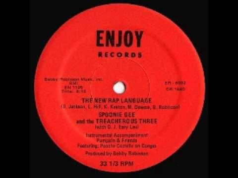 Spoonie Gee & The Treacherous Three - The New Rap Language