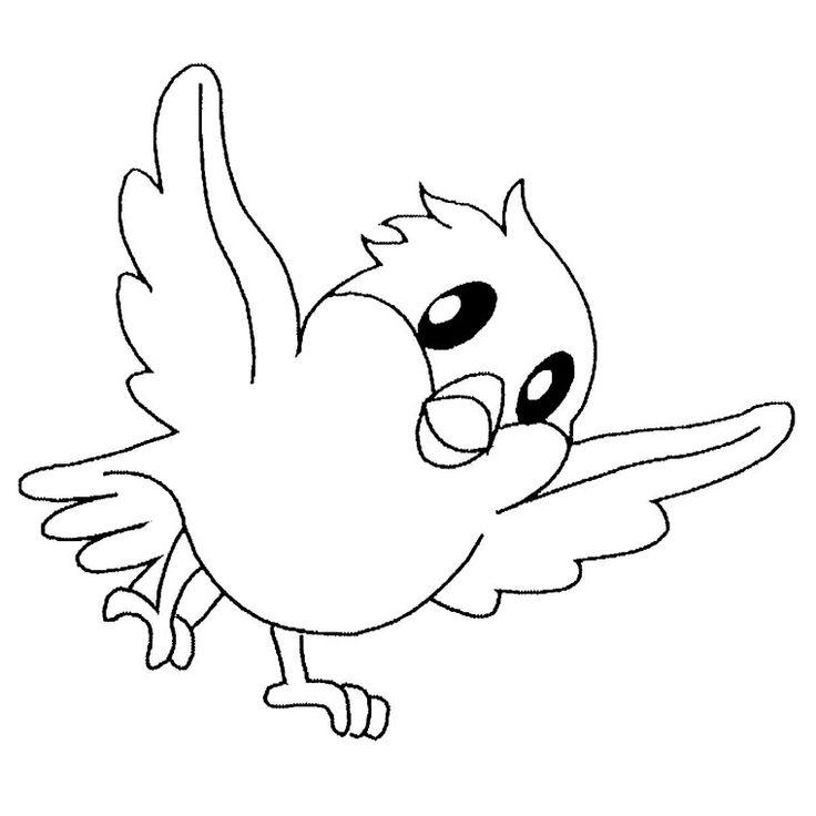Coloriage Oiseaux à colorier - Dessin à imprimer (met afbeeldingen)