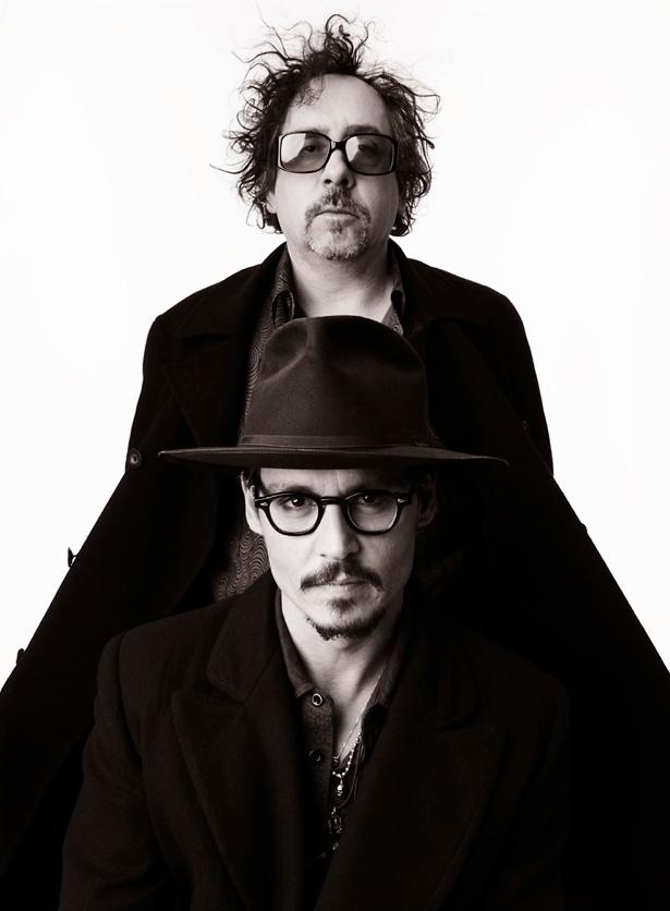 Tim Burton & Johnny Depp- 2 of my favorite men <3