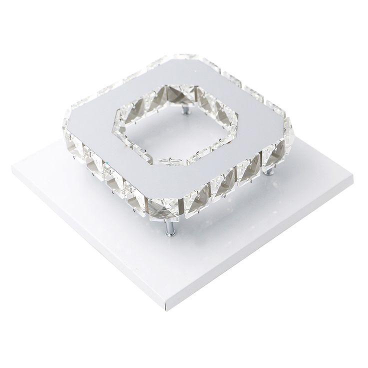 SANYI 12W Ceiling Lamp Crystal 85-265V LED Bulb Base High Light Transmittance Cool White/Warm White Modern Pendant Lamp #Affiliate