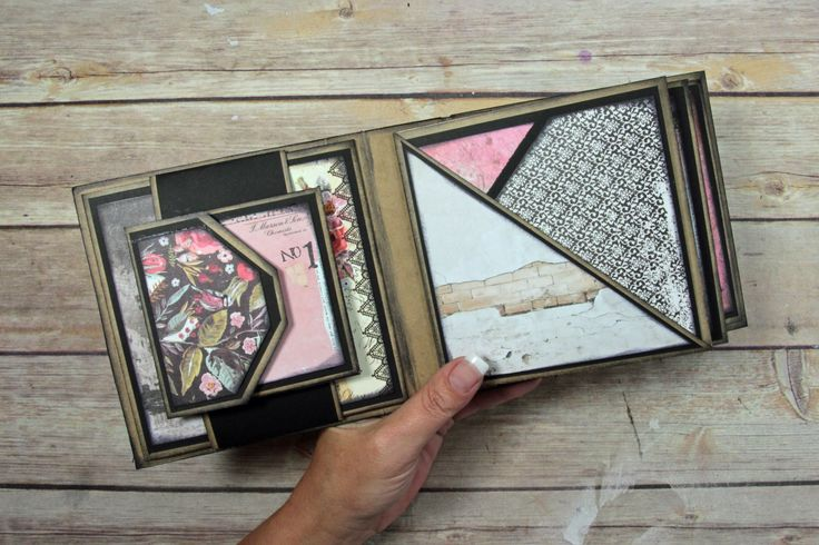 Just a quick video to show you how I double matted the Square Mini album pages…