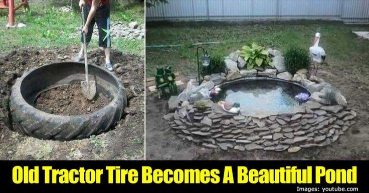 1000 Fikir Tractor Tire Pond Pinterest 39 Te Bah Ecilik