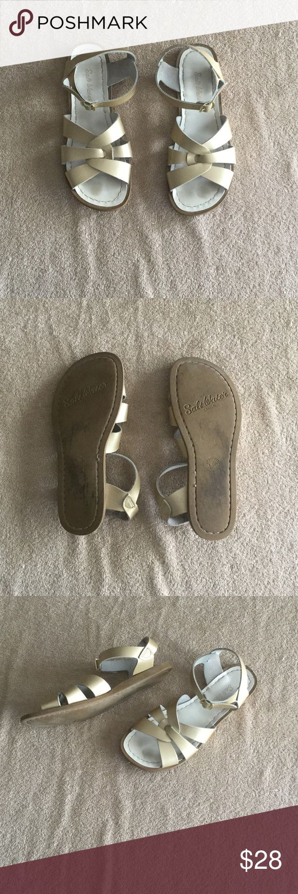 Salt Waters Sandal Excellent condition. Make an offer and no trade Salt Water Sandals by Hoy Shoes Sandals