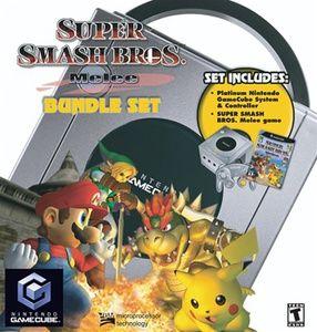 GameCube System Super Smash Bros. Melee Bundle Set New