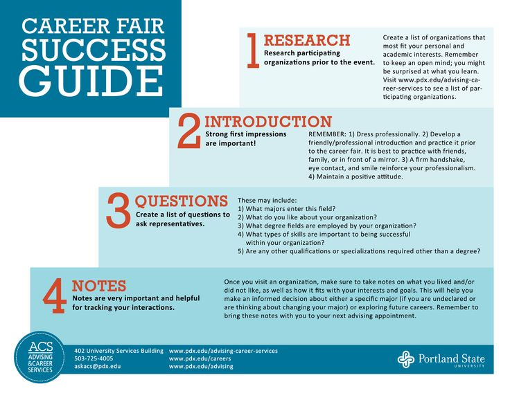questions for career fair