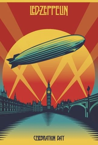 Poster for Film Led Zeppelin: Celebration Day