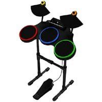 Activision Wireless Drum Kit Set for Guitar Hero « Game Time Home