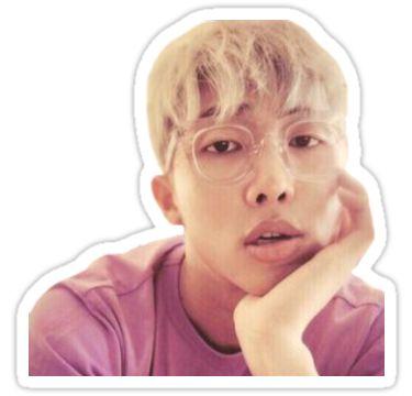 Etiqueta engomada linda del monstruo Kim Namjoon / Rap! • Also buy this artwork on stickers.