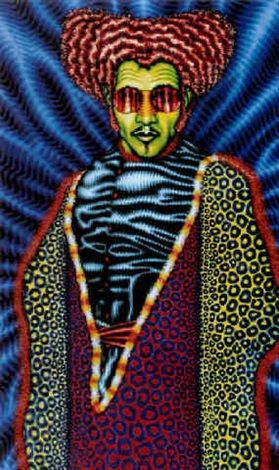 Jesus by Ed Paschke 1974, oil on canvas