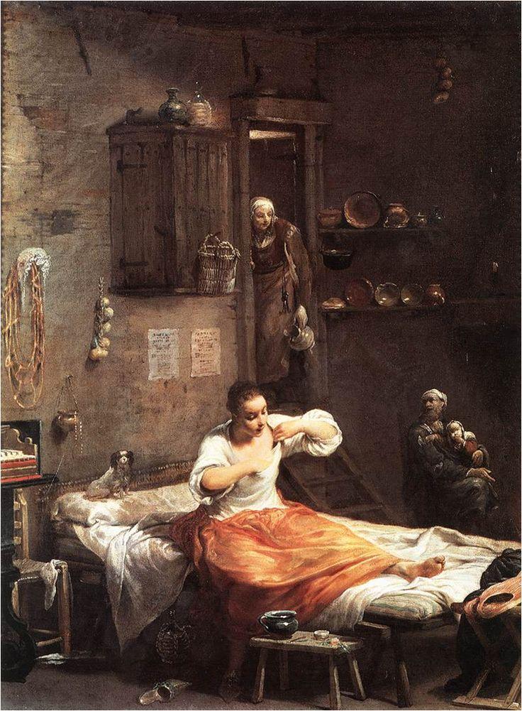 Hledání blech, Giuseppe Maria Crespi