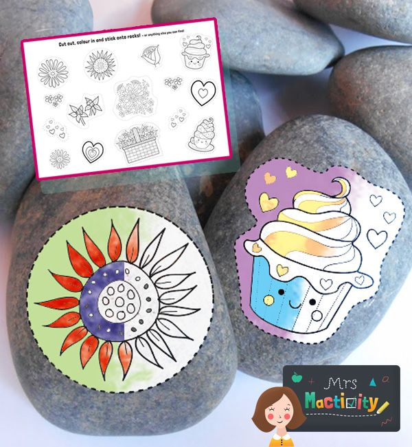 Use theseMother's Day Rock Decals to make a cute little gift this Mother's Day, or just use any day of the year! Print, paint, stick and then varnish. Join the Love On The Rocks Facebook Group and share your designs! Hide, find, then rehide! Download Now You May Also Like Mother's Day Flower Wreath Craft £0.00 By: Mary Mactivity Mother's Day Hand Print Card £0.00 By: Mary Mactivity Mother's Day 3D Heart... read more