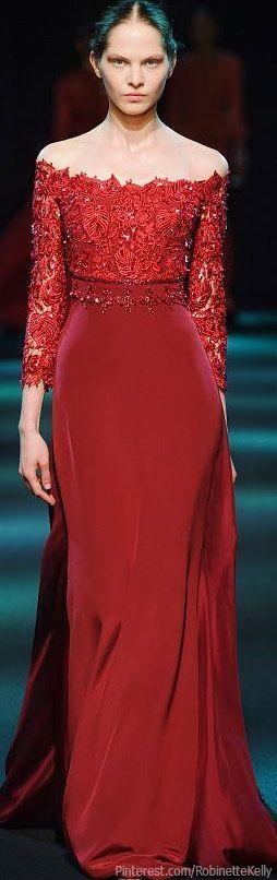 Georges Hobeika Haute Couture   F/W 2013