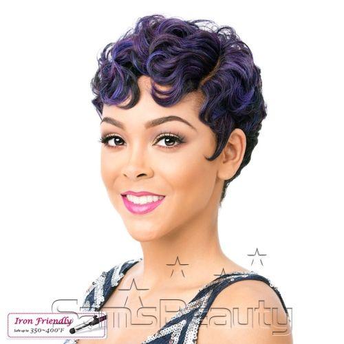 Hair Color Shown : NDXBLUEBERRY - SamsBeauty.com