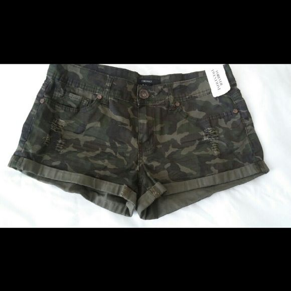 Army shorts/ new with tags Short woven  Olive/brown Forever 21 Other