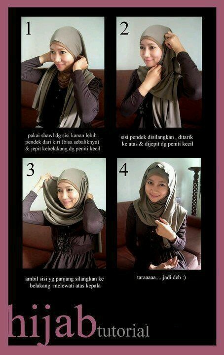 Hijab Tutorial - Simple