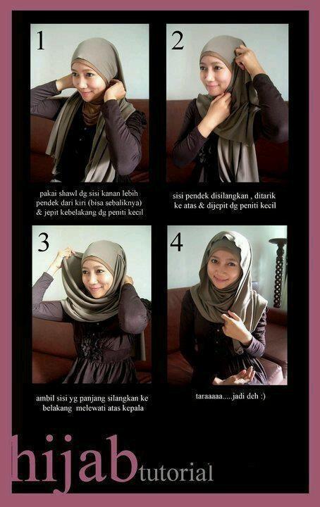 Hijab Tutorial - Simple