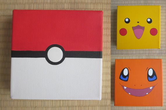 Pokemon Inspired Painting (Choose 1)