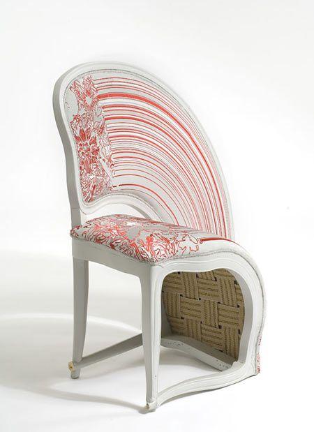 'Lathe VI' by Sebastian BrajkovicLathe Chairs O' O', Lathe Chairs V1 Jpg 450 508, Brajkov Lathe, Stretch Lathe, Art, Stretch Chairs, Furniture, Sebastian Brajkov, Chairs Design