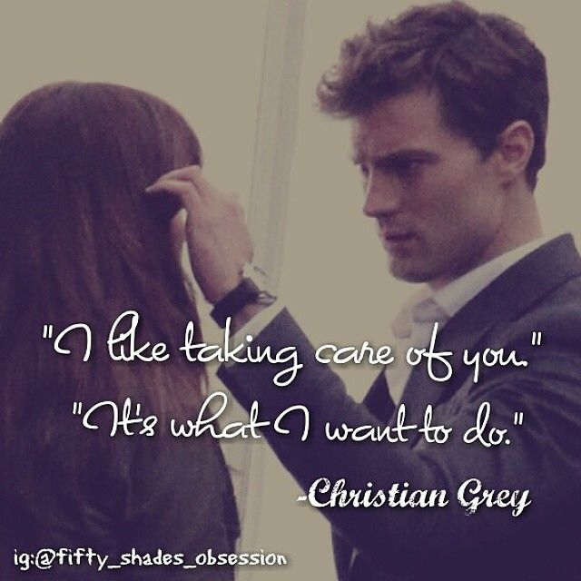 Yes please! <3 The sweet side of Christian.