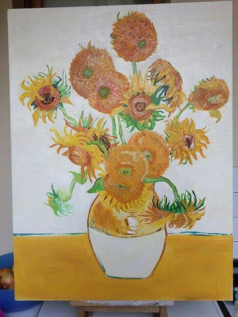 Omaggio a Vincent..olio su tela