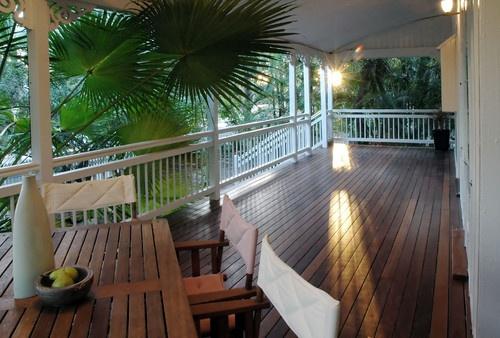 Tropical Outdoor Photos Verandah Design, Pictures, Remodel, Decor and Ideas