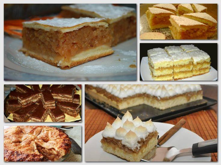 A 7 legfinomabb almás sütemény! Egytől egyig káprázatosak!