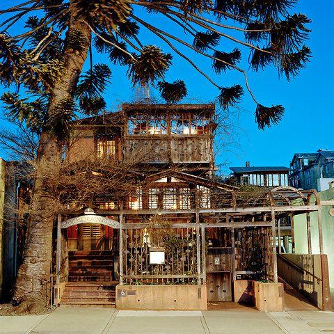 Alice Water's Chez Panisse Restaurant in Berkeley, CA.