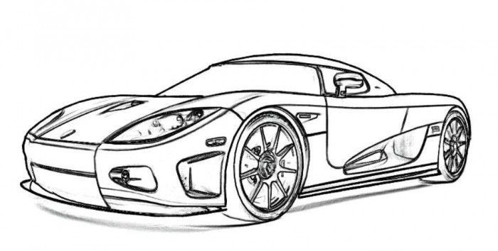 Printable Sports Car Coloring Pages Cars Coloring Pages Race Car Coloring Pages Sports Coloring Pages