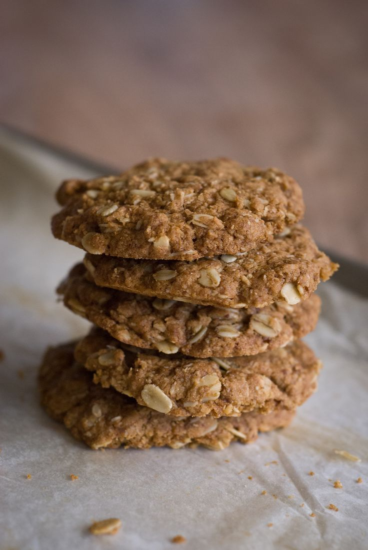 Anzac Biscuits - Egg Free Rusty Skillet Blog