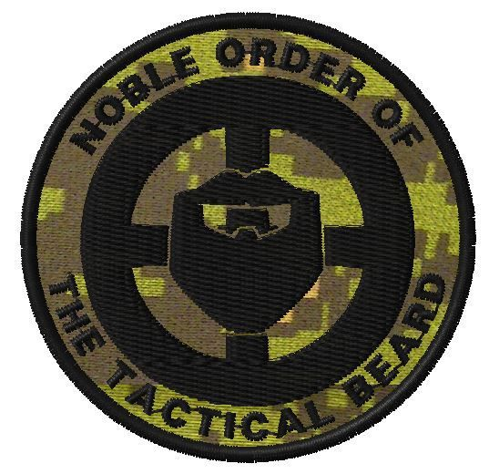 OMLpatches.com - Noble order of the Tactical Beard, $6.99 (http://www.omlpatches.com/noble-order-of-the-tactical-beard/)