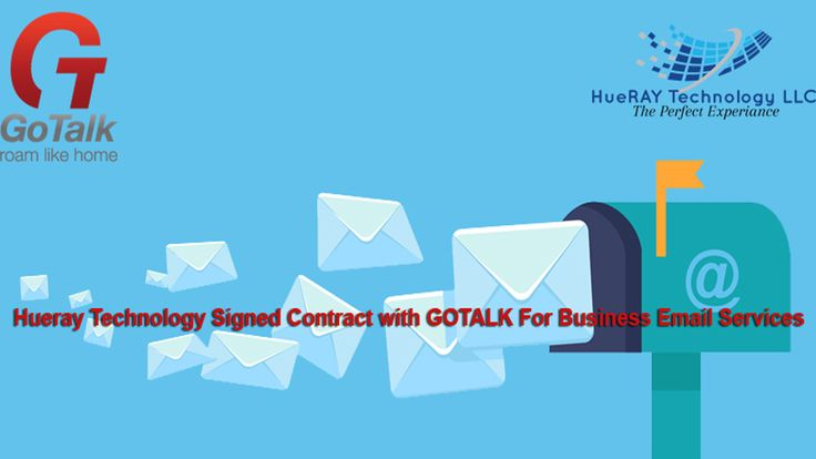 The 16 best company portfolio images on pinterest company hueray technology signed contract with gotalk for business email services expressing our sincere gratitude to gotalk management for their trust on us and fandeluxe