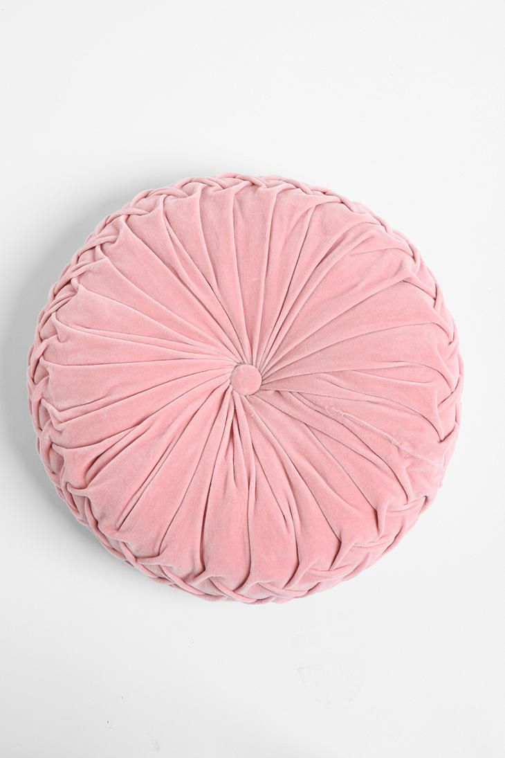 Amazing Round Pintuck Pillow