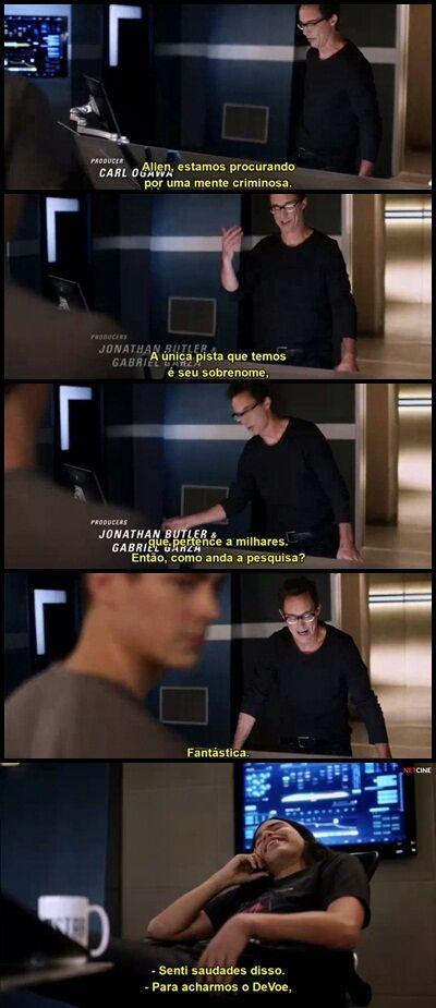 Eu também senti, Cisco.
