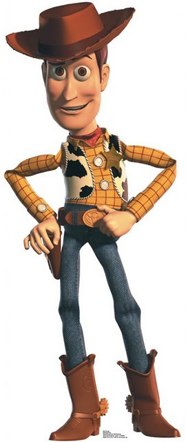 Woody, of course. Toys are cowboys, too.