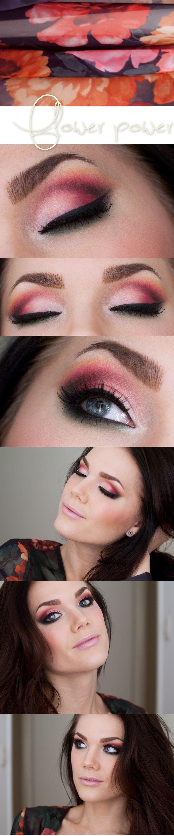 #Linda_Haullberg #Makeup #FlowerPower #SoAttractive