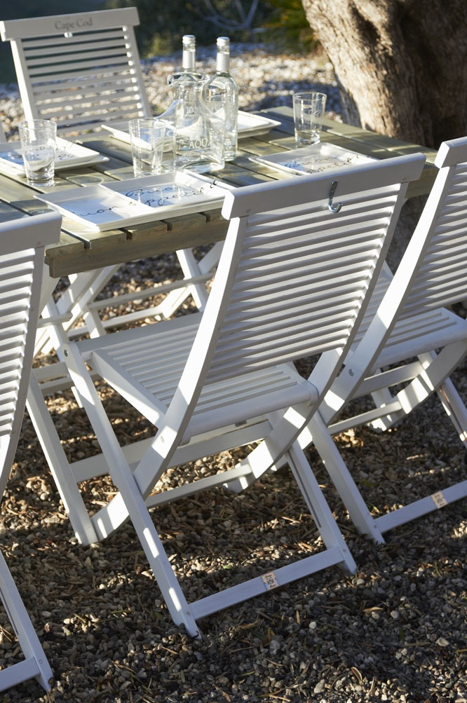 Love these Cape Cod dining chairs from Riviera Maison