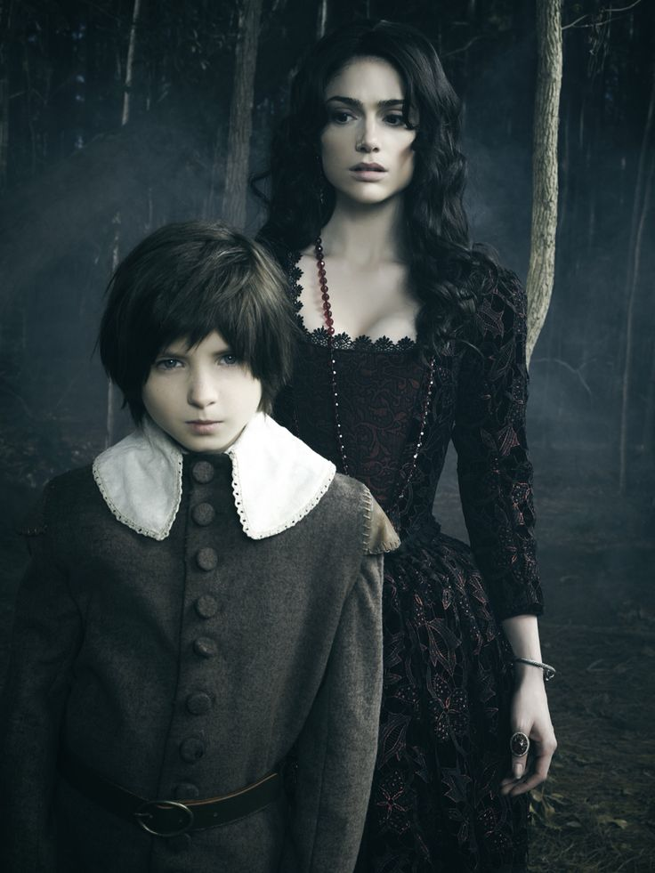 Mary Sibley and her son - Salem. I hate Tituba for keeping them apart :(