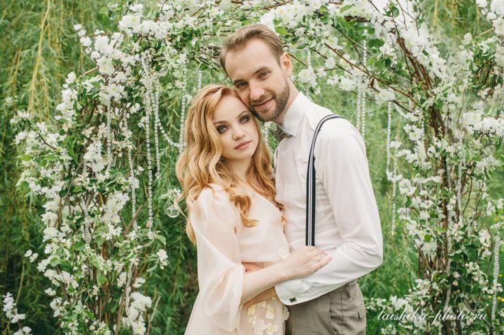 Свадебная церемония на свежем воздухе