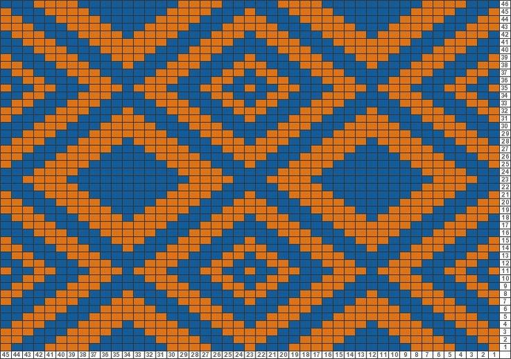Gráficos Tricksy Knitter: Tapicería embrague por Alison